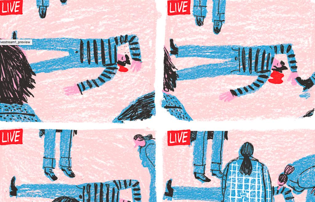 Fragment uit illustratie van Zeloot
